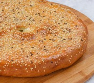 Татарский пирог с индейкой и грибами Эчпочмак, 1000 гр.