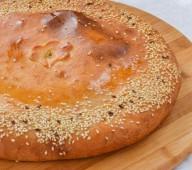 Татарский пирог с судаком, грибами и сливками, 1000 гр.