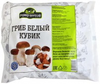 Замороз ФЦ Гриб Белый кубик 300г пл/пак