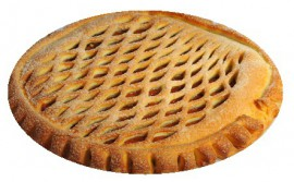 Пирог с курагой и грецким орехом, 1000 гр.
