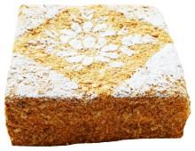 Торт Слоеный со сливочно-абрикосовым кремом