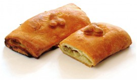 Пирожок с мясом и капустой, 65 гр.