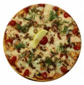 Пицца с семгой, мидиями и угрем, 600 гр.