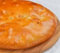 Пирог осетинский с яйцом и сыром, 900 гр.