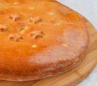 Пирог осетинский с мясом и овощами, 900 гр.