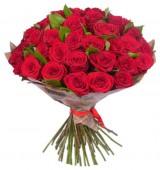 Букет из 35 роз, 60 см.