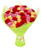 Букет из 41 розы, 60 см.
