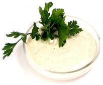Добавки для шаурмы, соус сырно-чесночный