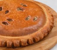 Пирог с треской и морским языком, 1 кг.