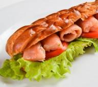 Эклер-сэндвич рыбный
