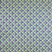 Одеяло зеленое, круги