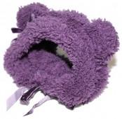 Шапка для собак, фиолетовая