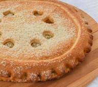 Пирог с конфитюром, 1000 гр.