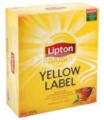 Чай черный LIPTON Yellow Label 100 пакетиков