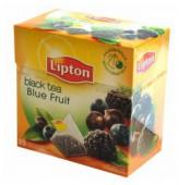 Чай черный LIPTON Черника Ежевика Смородина 20 пирамидок