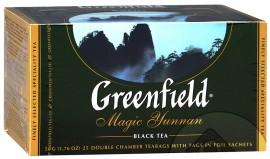 Чай черный GREENFIELD Magic Yunnan в Термосаше 25 пакетиков