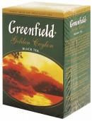 Чай черный GREENFIELD Golden Ceylon  листовой