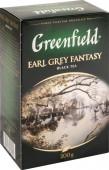 Чай черный GREENFIELD Earl Grey Fantasy  листовой