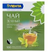 Чай зеленый ЛЕНТА Молочный Улун 100 пакетиков