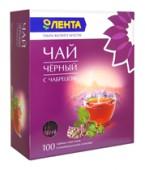 Чай черный ЛЕНТА с чабрецом 100 пакетиков