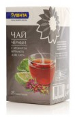 Чай черный ЛЕНТА Earl Grey с аром.Бергамота  25 пакетиков