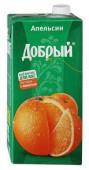 Нектар ДОБРЫЙ Апельсиновый 2L
