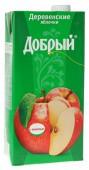 Нектар ДОБРЫЙ Деревенские яблочки 2L