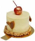Пирожное «Жареный шоколад» Вишня