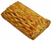 Пирог с кетой и сельдереем