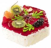 Торт Ванильно-малиновая Панна Котта