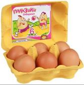 Яйцо куриное ПОЛЬЗИКИ Активита пищевое столовое СО