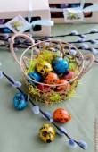 Набор перепелиных пасхальных яиц
